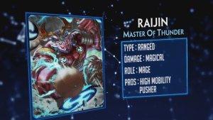 Smite Raijin God Reveal thumbnail