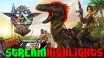 JamesBl0nde & BakermanBrad team up in the 2 man tribe mode of ARK: Survival of the Fittest!