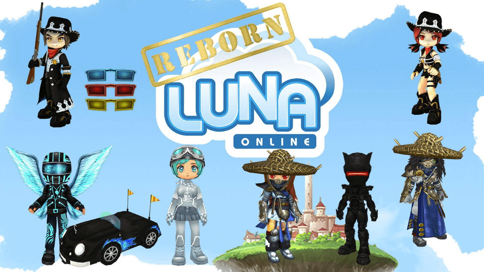 Luna Online Reborn Begins Closed Beta