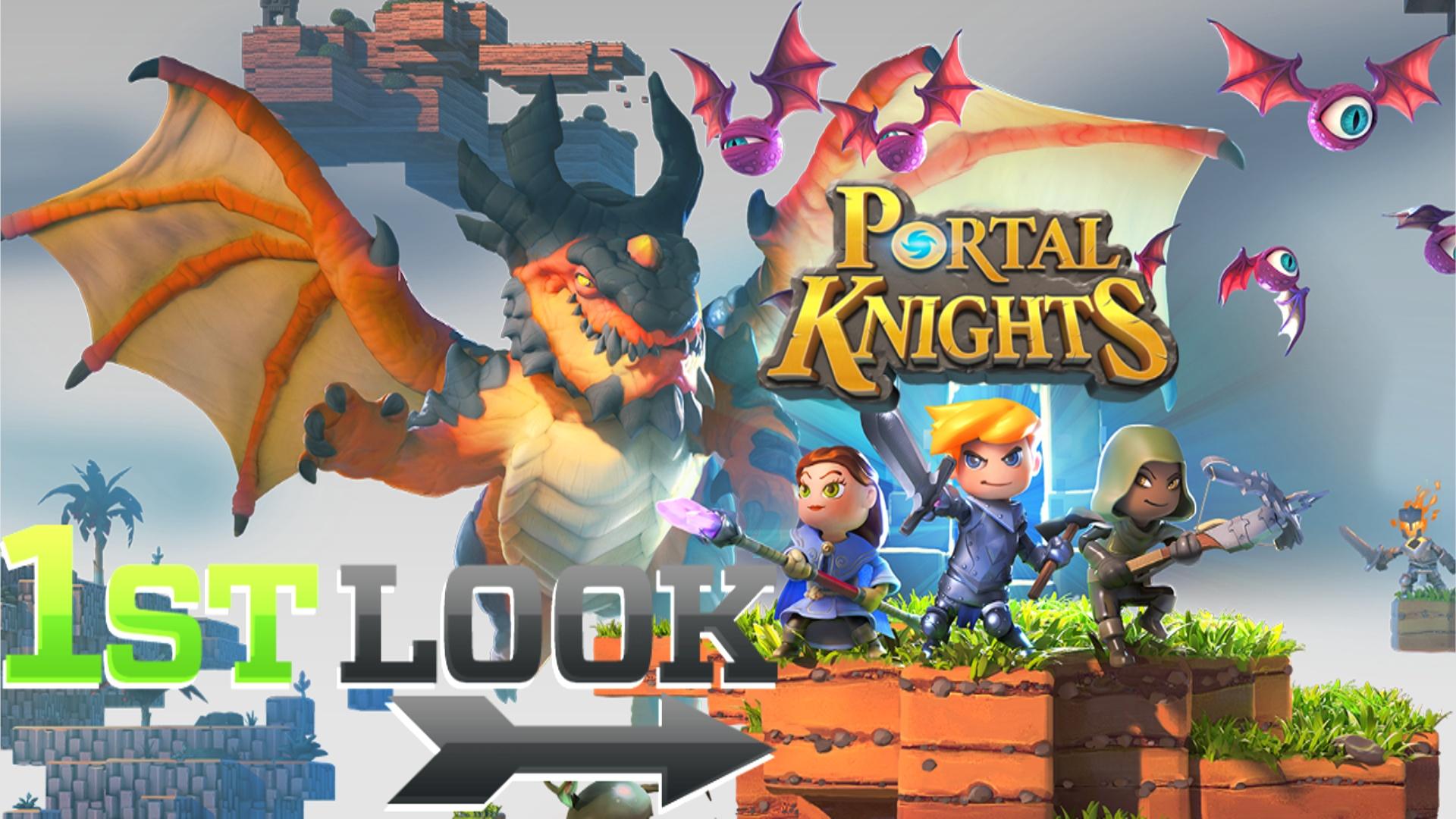 Portal Knights First Look