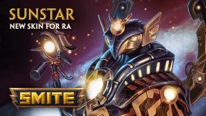 SMITE Sunstar Ra Skin Preview