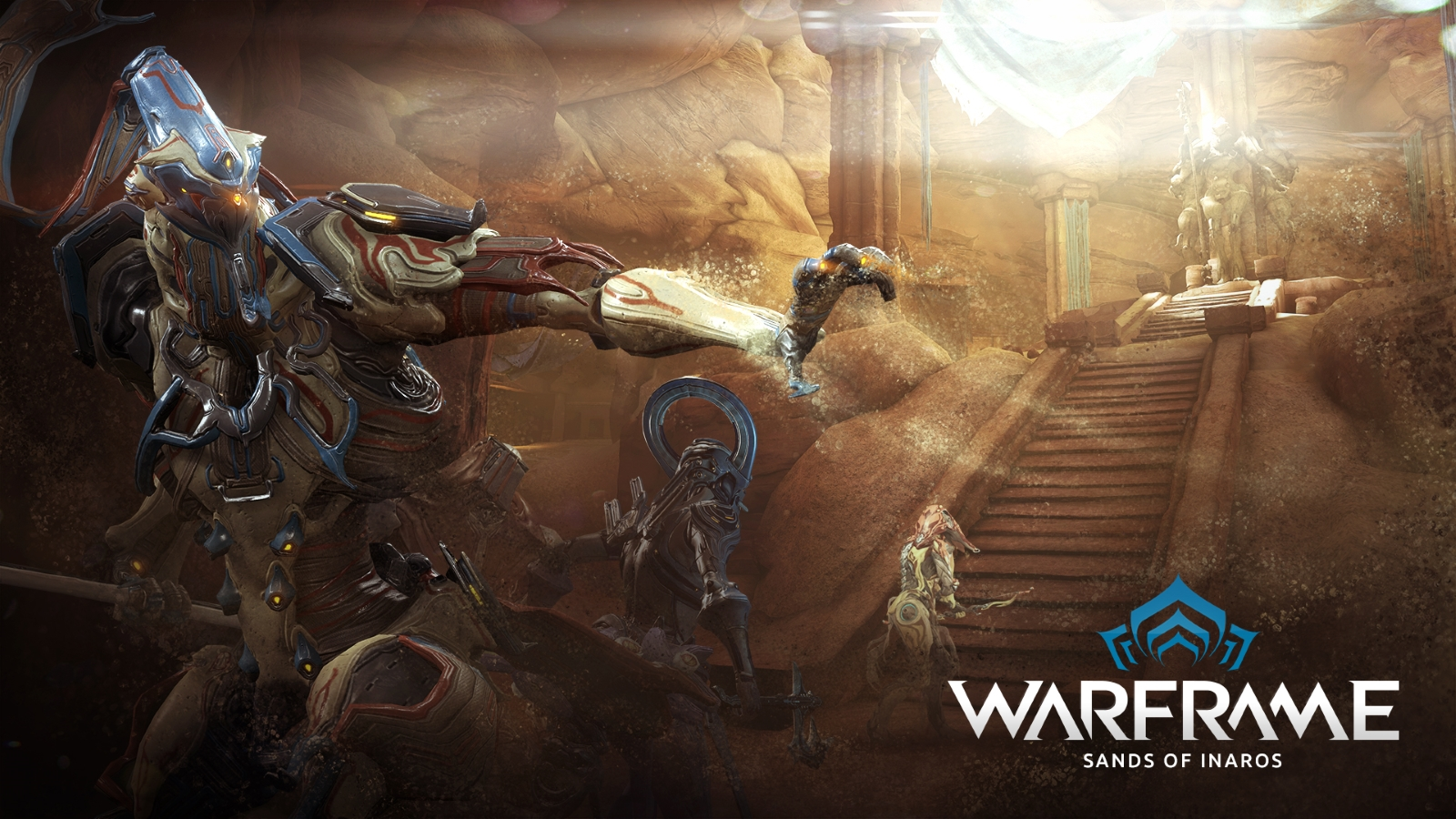Warframe Sands of Inaros Update Launches