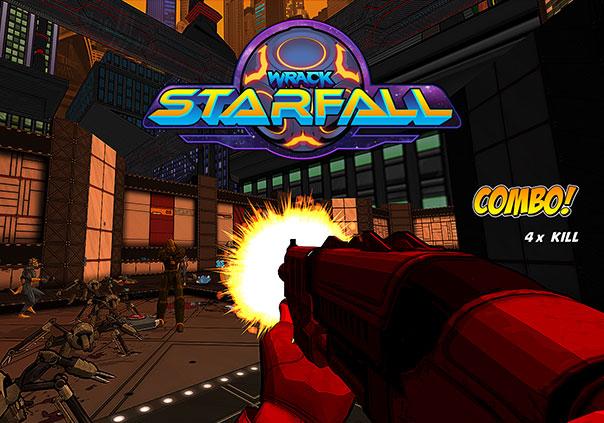 Wrack Starfall Game Banner