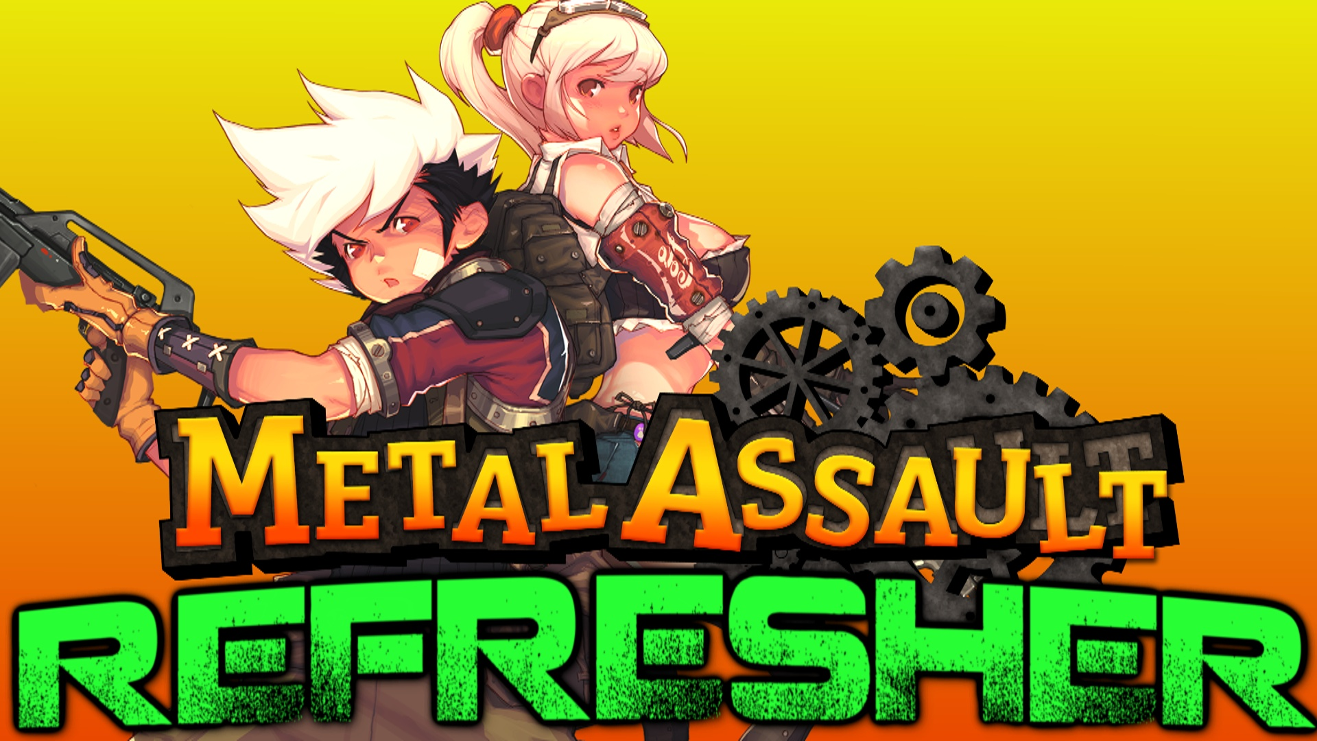 BakermanBrad takes a crack at the recently resurrected 2D side-scroller shoot'em up known as Metal Assault!