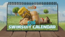2016 Clash of Clans Desk Calendar Teaser Video Thumbnail