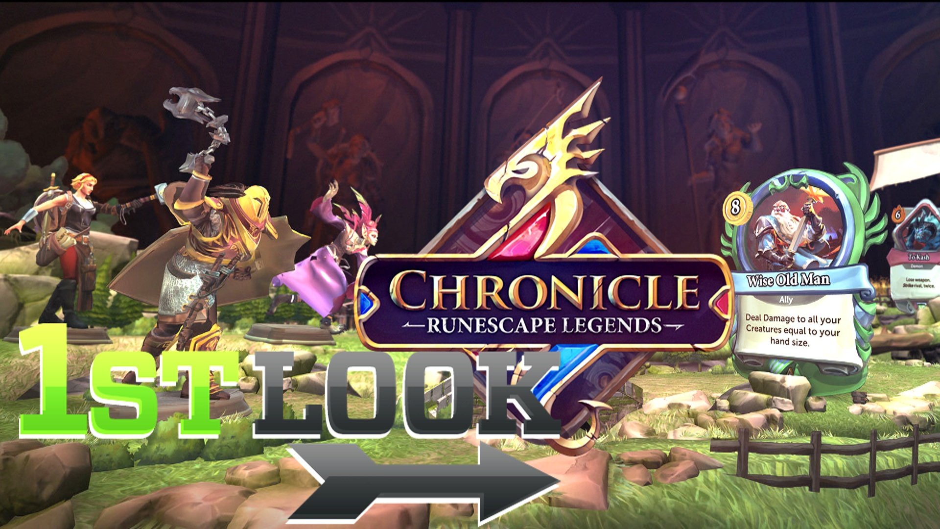 Chronicle: RuneScape Legends - First Look