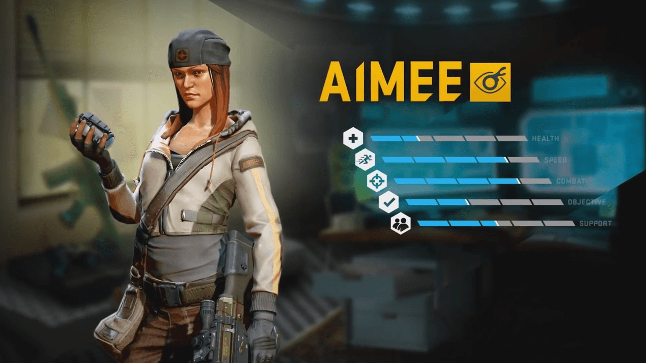 Dirty Bomb Aimee Merc Role-Call Video Thumbnail