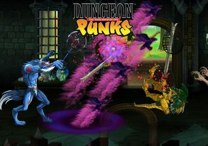 Dungeon Punks Game Profile Banner