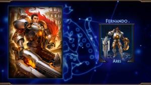 Fernando Ares Skin Reveal
