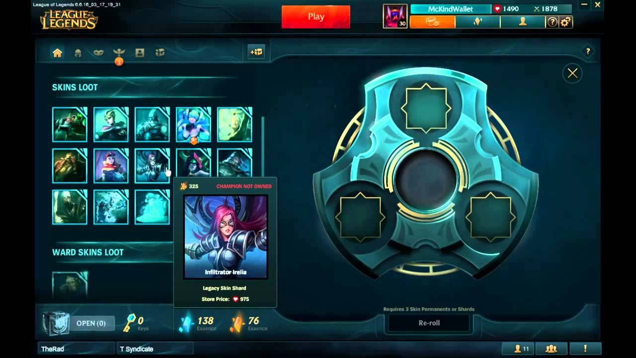 League of Legends 2016 Interview - Clubs and Crafting
