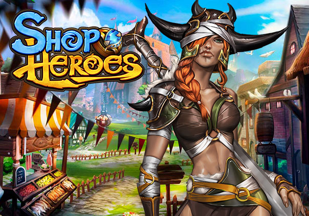Shop Heroes Game Profile Banner