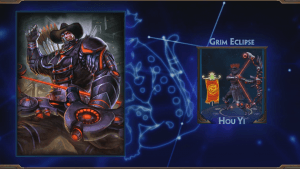 Smite Grim Eclipse Hou Yi Skin Preview
