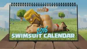 2016 Clash of Clans Desk Calendar Teaser Video Thumbnail