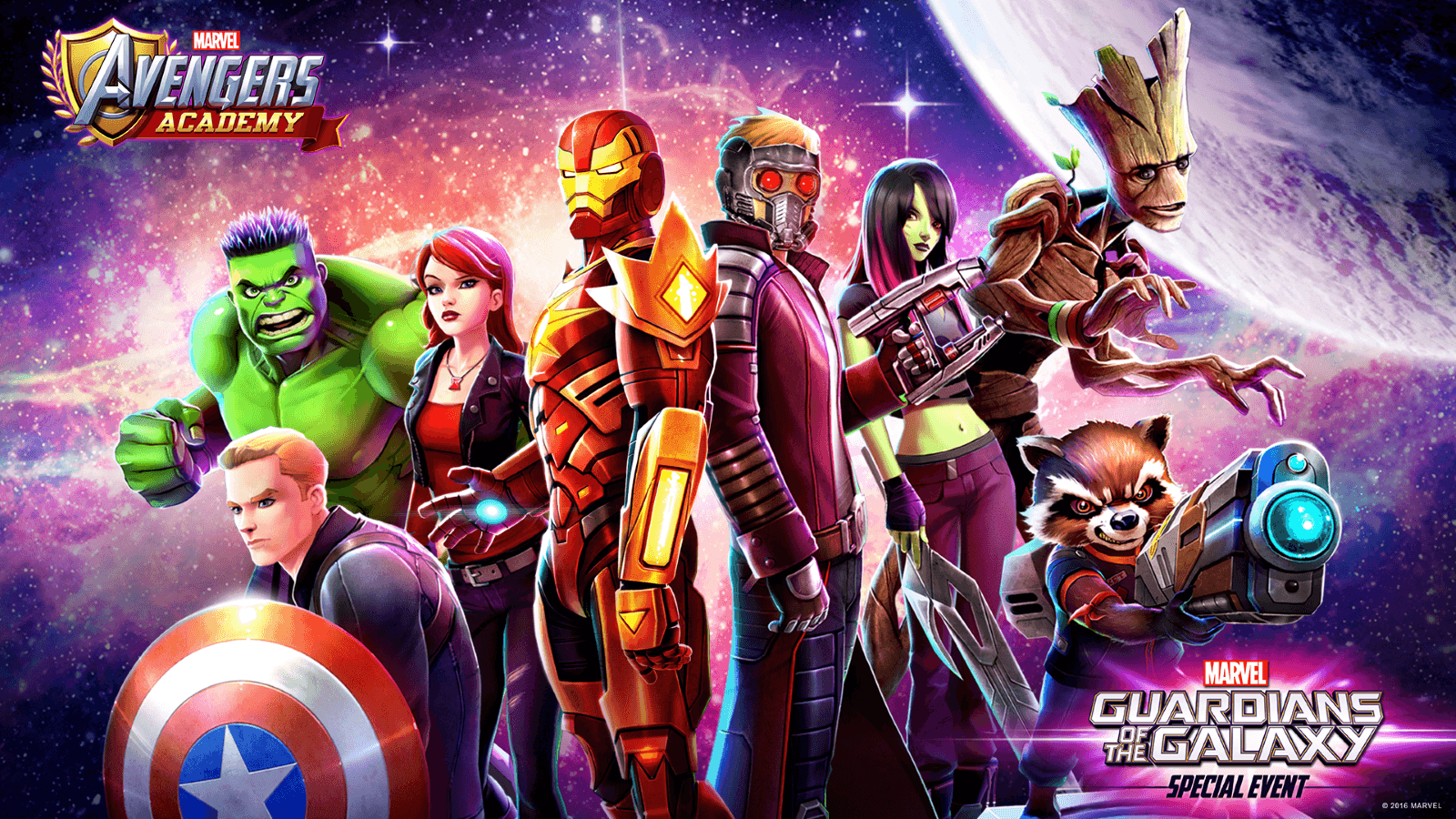Marvel Avengers Academy Hosts Guardians of the Galaxy Event
