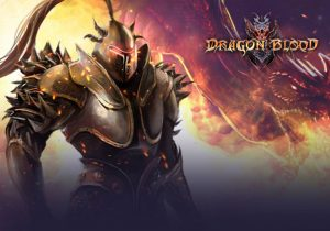 Dragon Blood Game Profile Banner