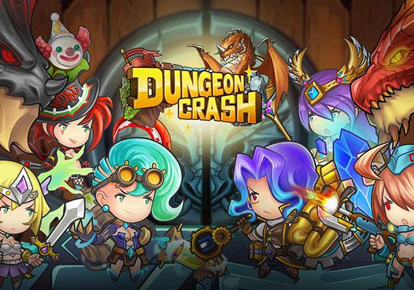 Dungeon Crash Mobile Game Banner