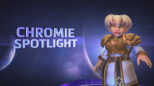 Heroes of the Storm Chromie Spotlight Thumbnail
