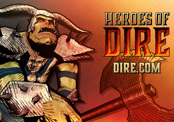 Heroes of Dire Game Banner