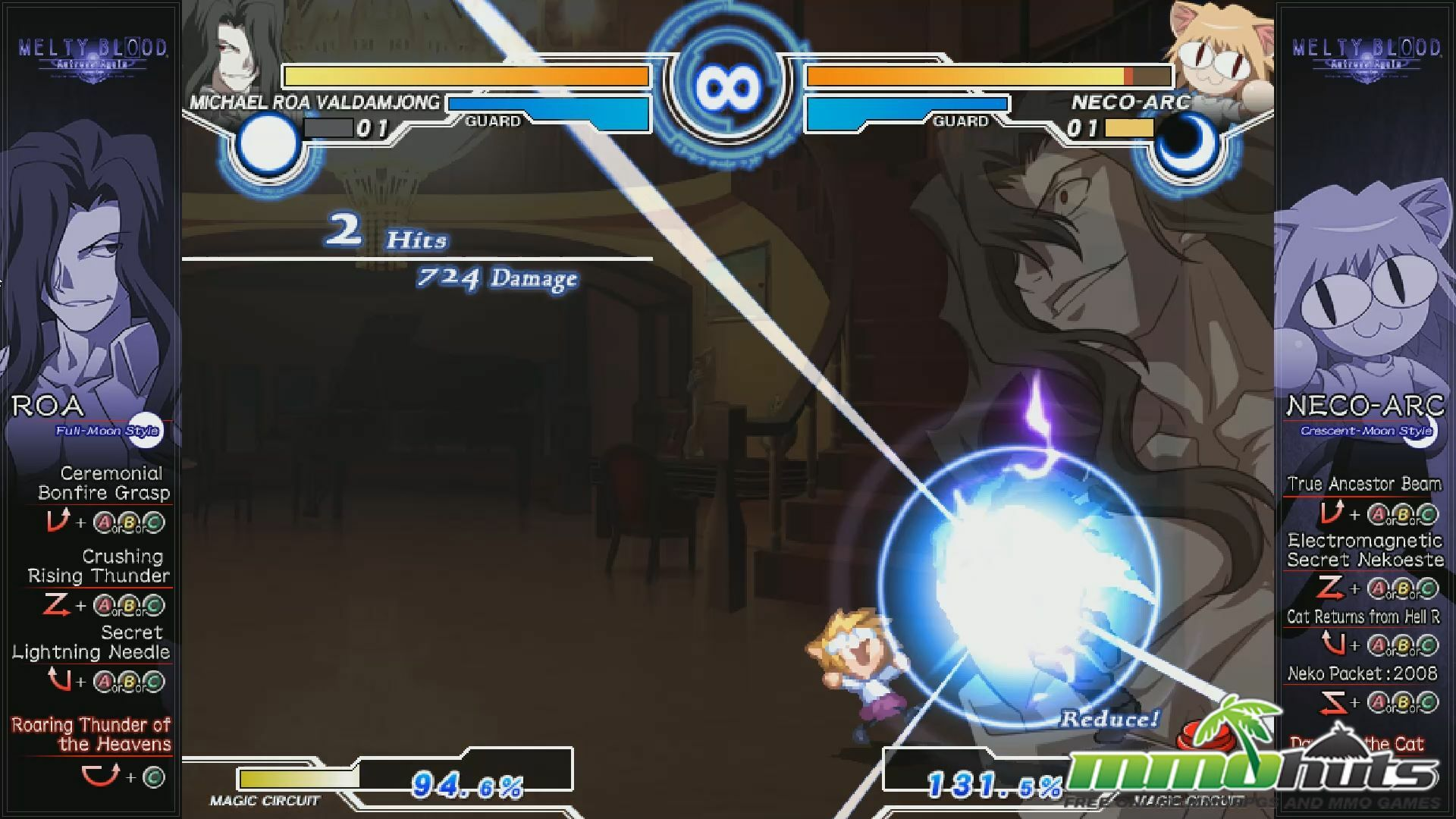 Melty Blood Actress Again Current Code PC Localized Review
