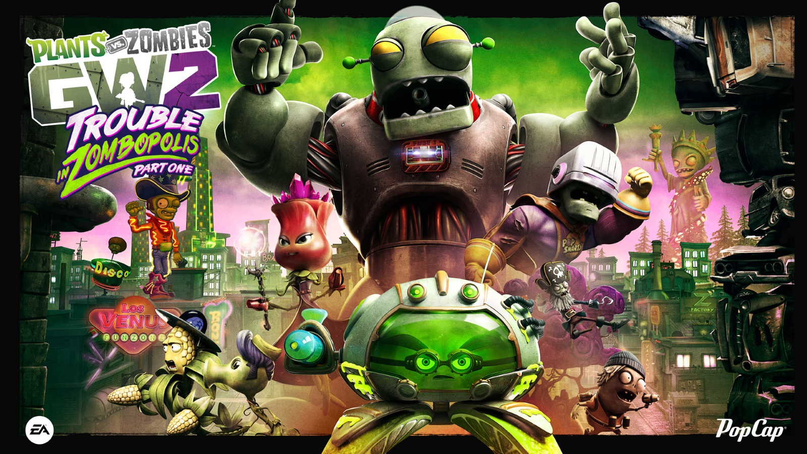 Plants vs. Zombies Garden Warfare 2 Announces Summer Update