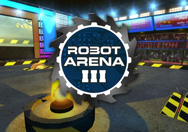 Robot Arena III Game Profile Banner