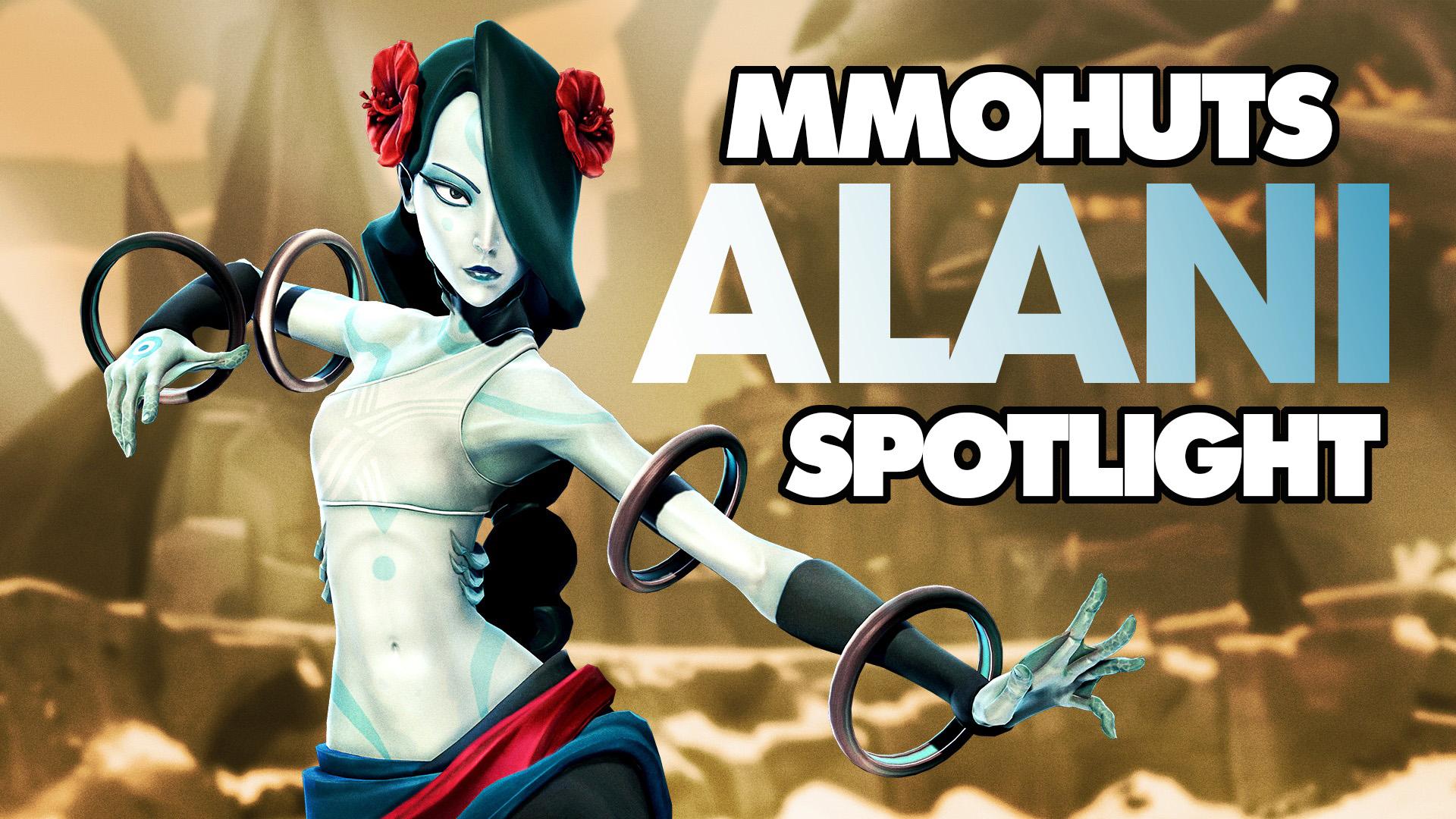 Battleborn Alani Spotlight w/Bottom Tier