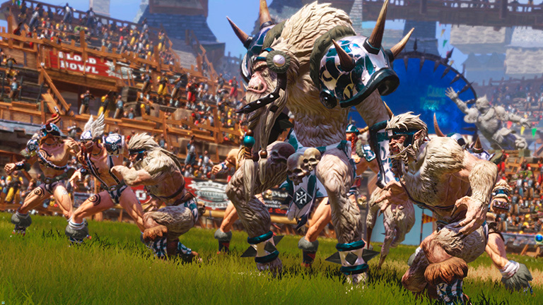 Blood Bowl 2 Norse Team Arrives