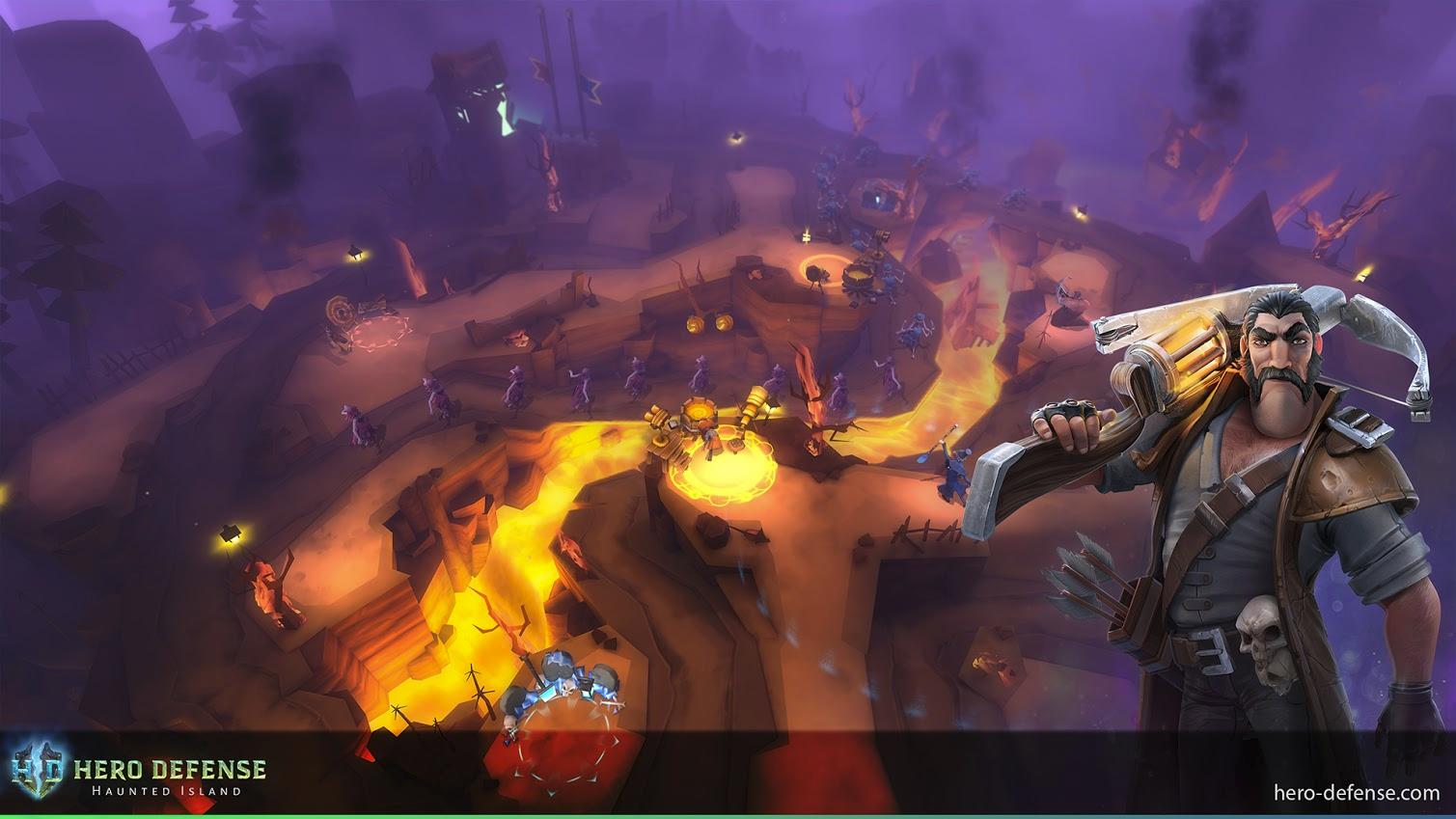 Hero Defense - Haunted Island Getting Multiplayer