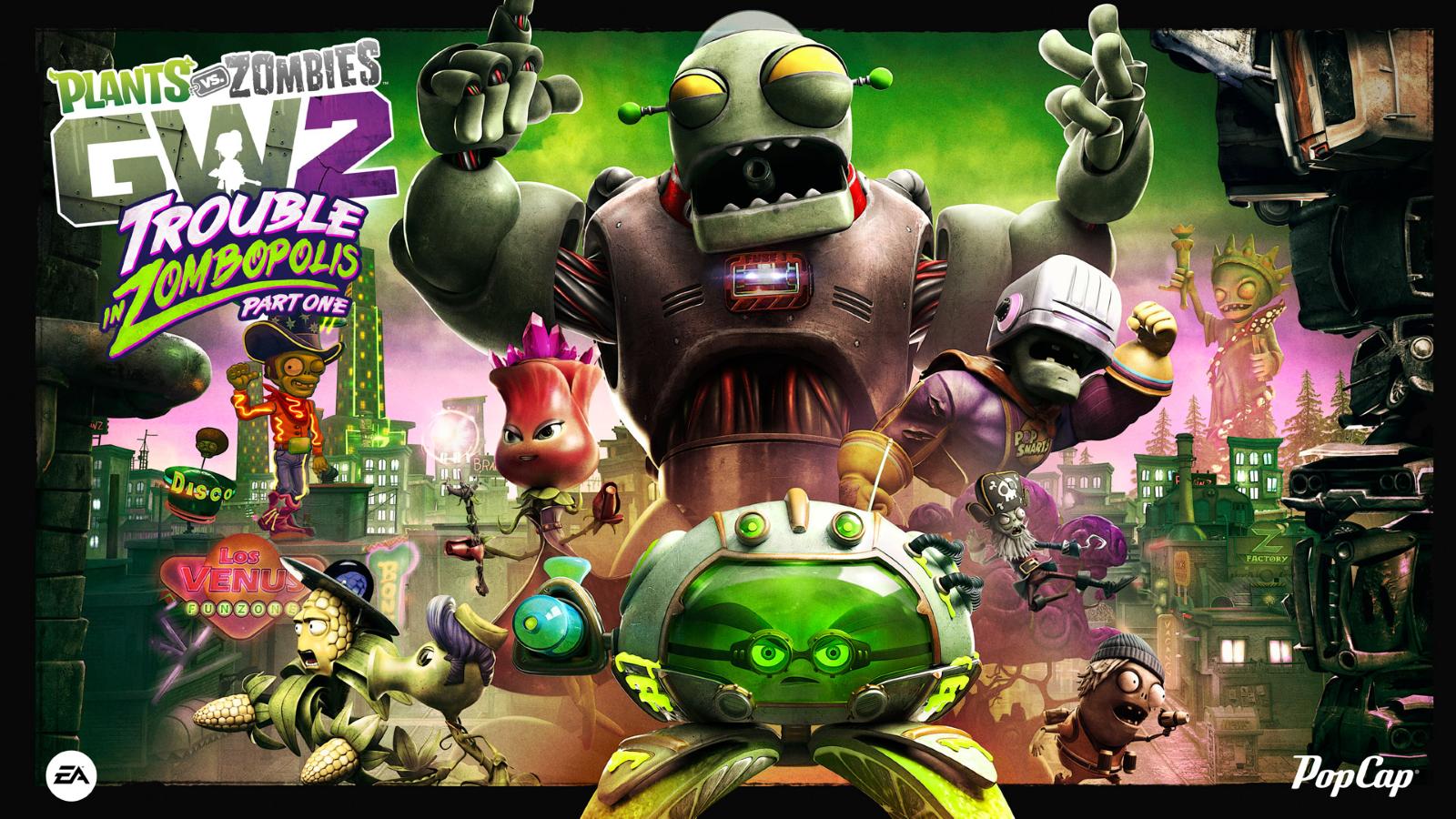 Plants vs. Zombies Garden Warfare 2 Announces Summer Update