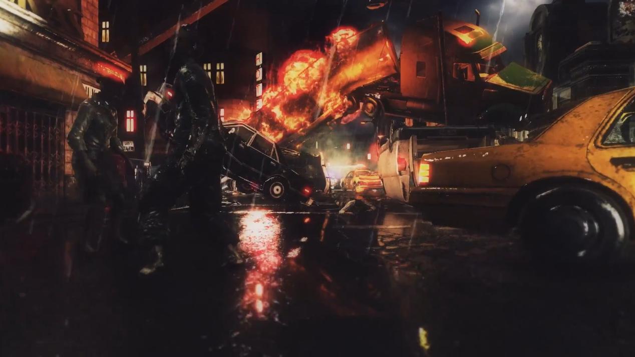 Umbrella Corps Raccoon City and RPD Building Trailer