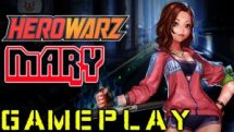 HeroWarz - Closed Beta 2 Mary Gameplay