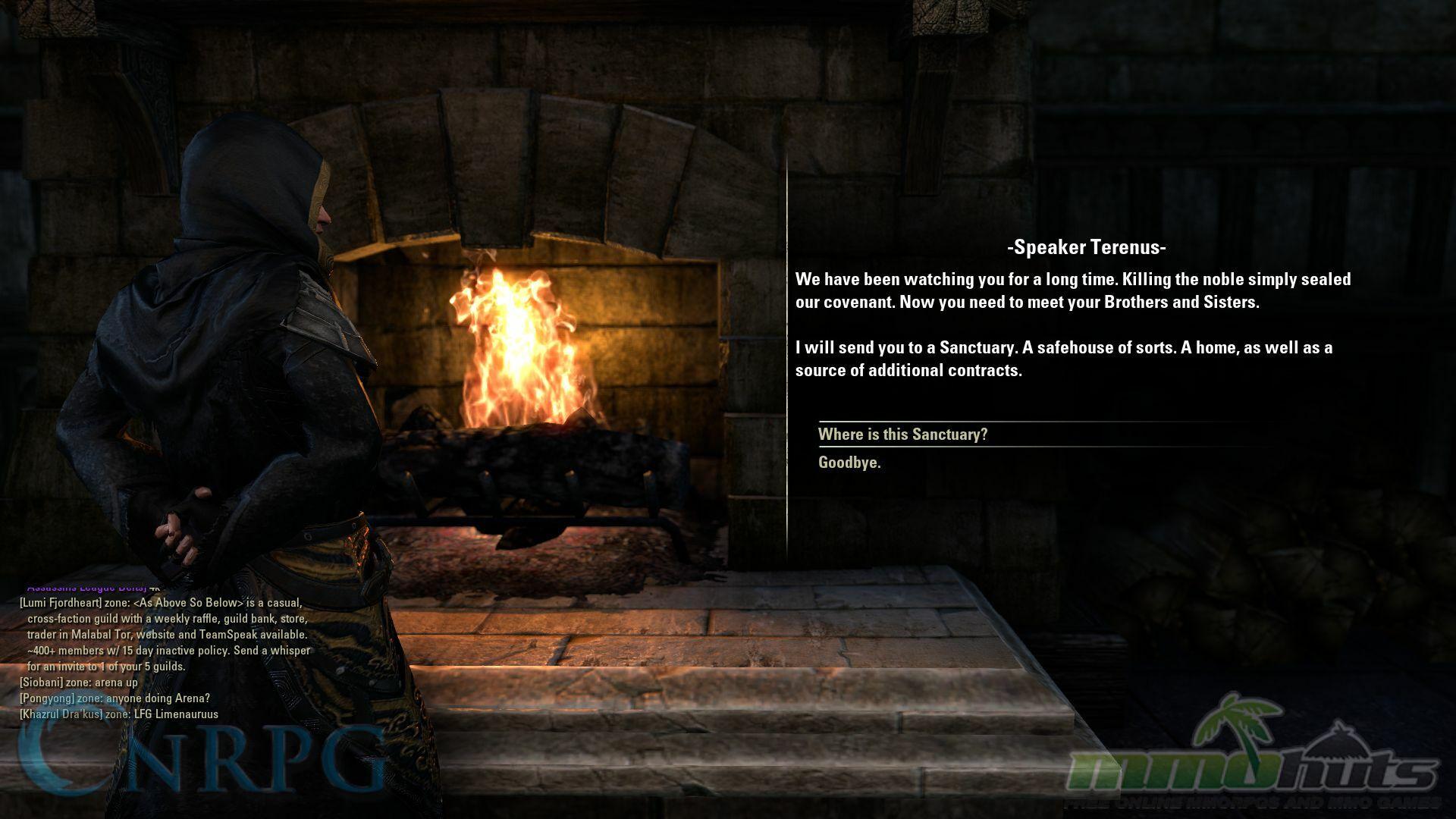 The Elder Scrolls Online - Dark Brotherhood DLC Review