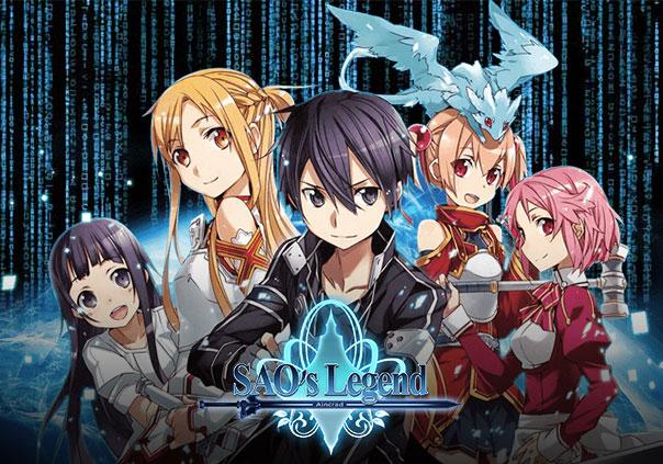 SAOs Legend Game Banner