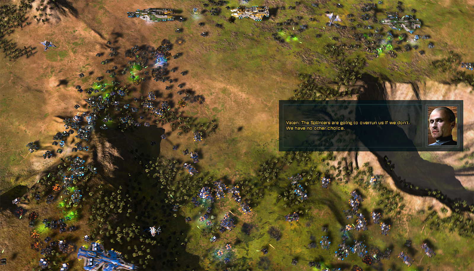Ashes of the Singularity v1.2 adds Newly Enhanced Campaign