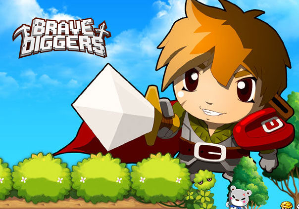 Brave Diggers Game Profile Banner