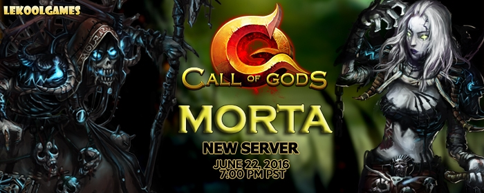 Call of Gods Announces Morta Server