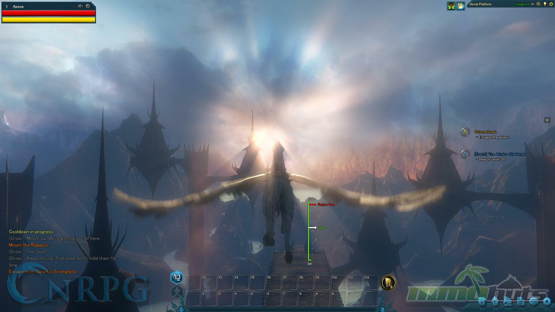 Riders of Icarus Pre-Beta Preview