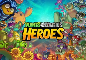 Plants vs Zombies Heroes Game Banner