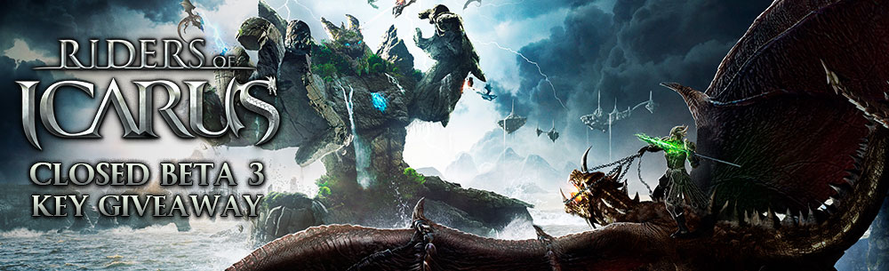 Riders of Icarus Beta 3 Key Giveaway