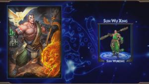 Smite Sun Wu Xing Sun Wukong Skin Preview