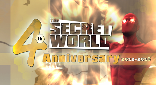 The Secret World 4th Anniversary Celebrations Begin