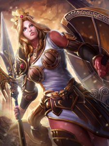 Smite God Overview - Athena