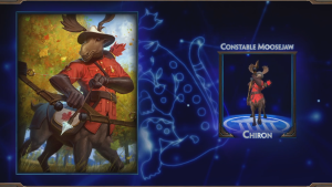 Smite Constable Moosejaw Chiron Skin