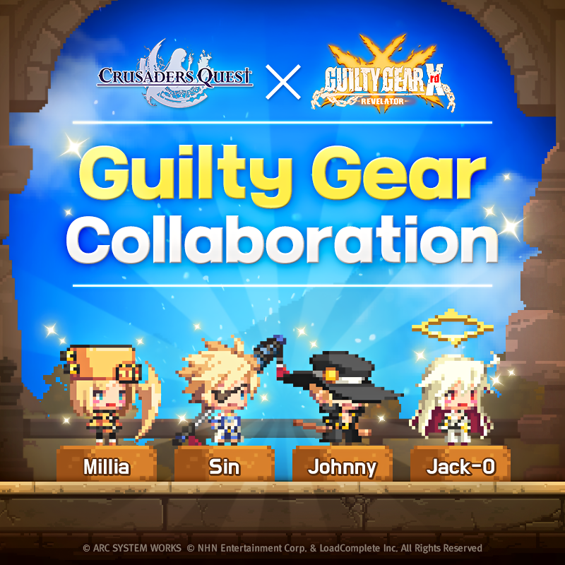 Guilty Gear X Crusaders Quest Collaboration Returns