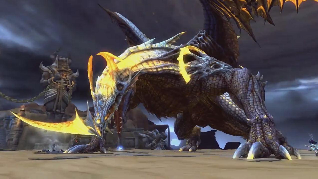 Dragon Nest Europe Desert Dragon Trailer