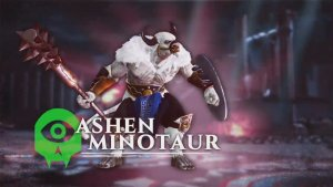 Gods of Rome Ashen Minotaur Spotlight