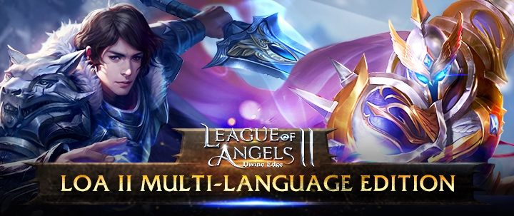 League of Angels II Launching Multi-Language Edition