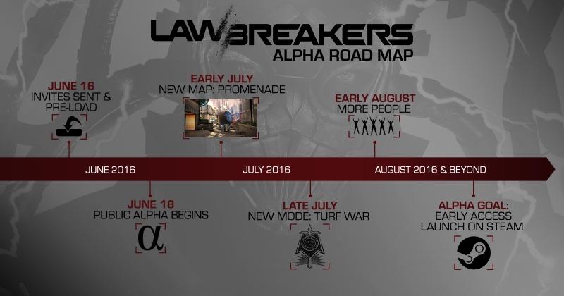 LawBreakers First Closed Alpha Begins This Weekend