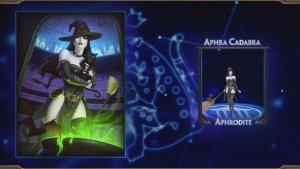 SMITE Aphra Cadabra Aphrodite Skin Preview