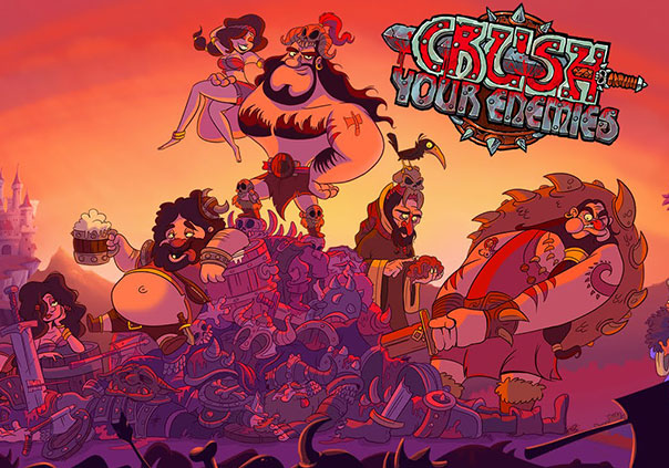 Crush Your Enemies Game Profile Banner